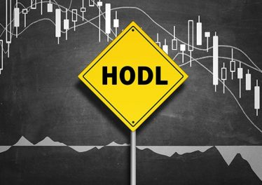 Hodl - to hold Cryptocurrency rather than selling it